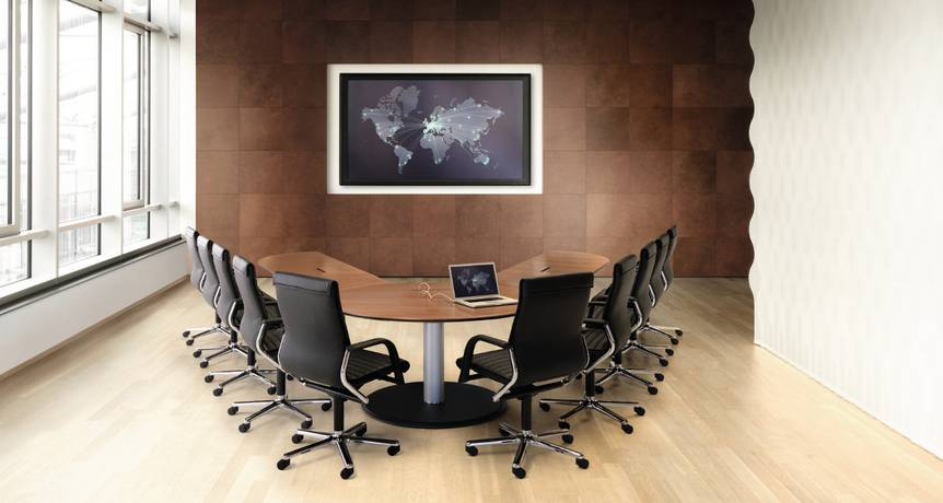 Conference Table Logon Static Table Table System Meeting Table - Horseshoe conference table
