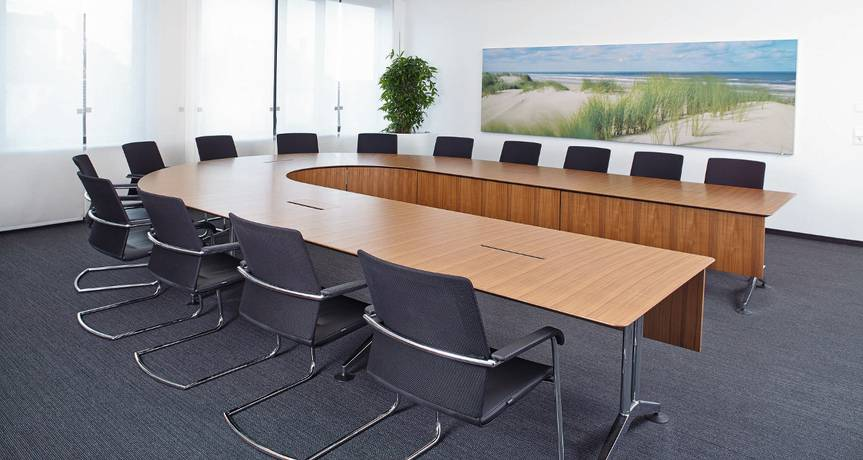 Conference Room Table Computer Connections