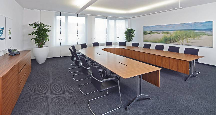 Conference Table Logon Static Table Table System Meeting Table - Large oval conference table