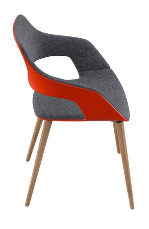 Occo chair appealing variety in one design language for Design stuhl range