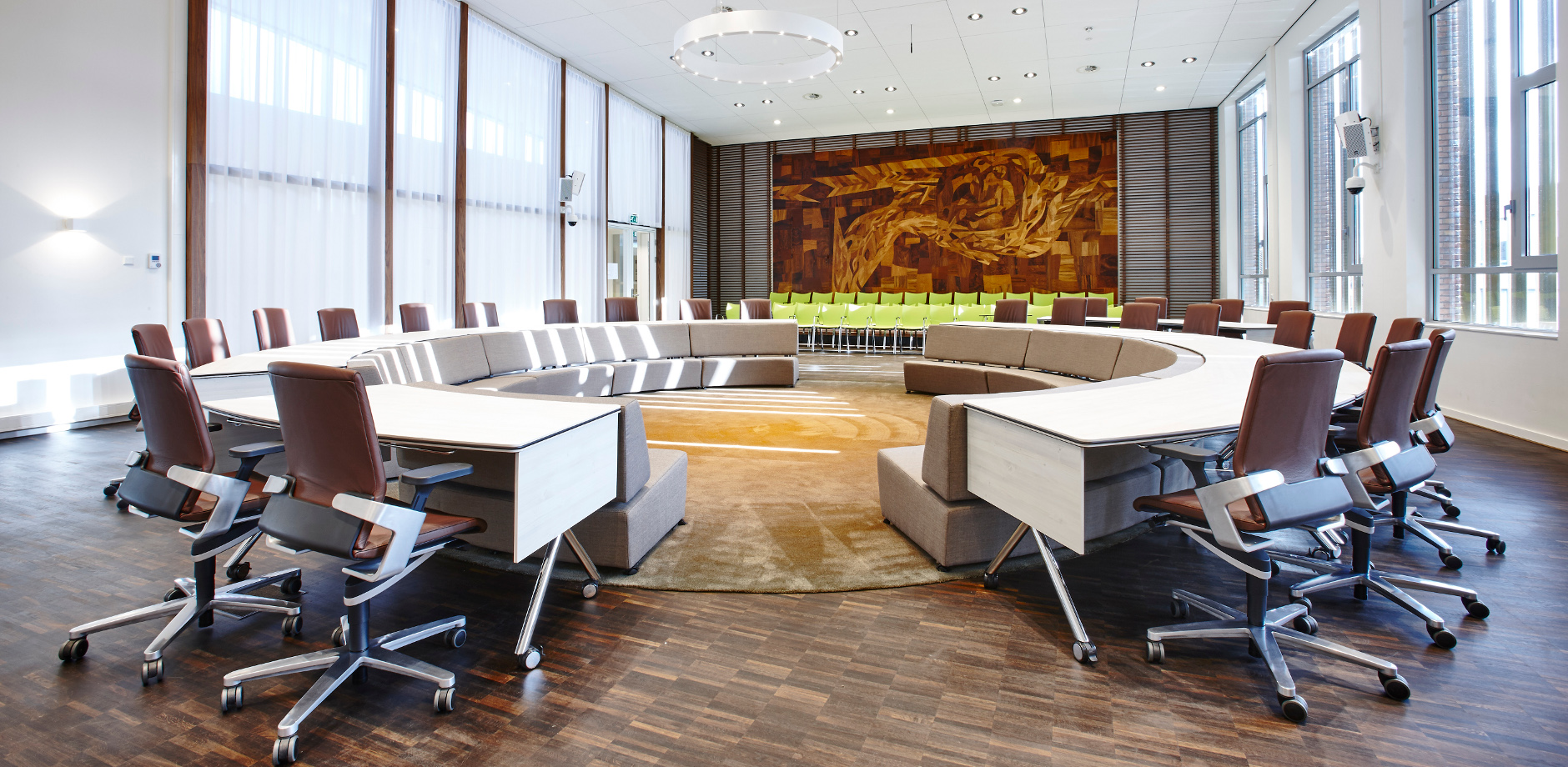 Conference room with ON chairs