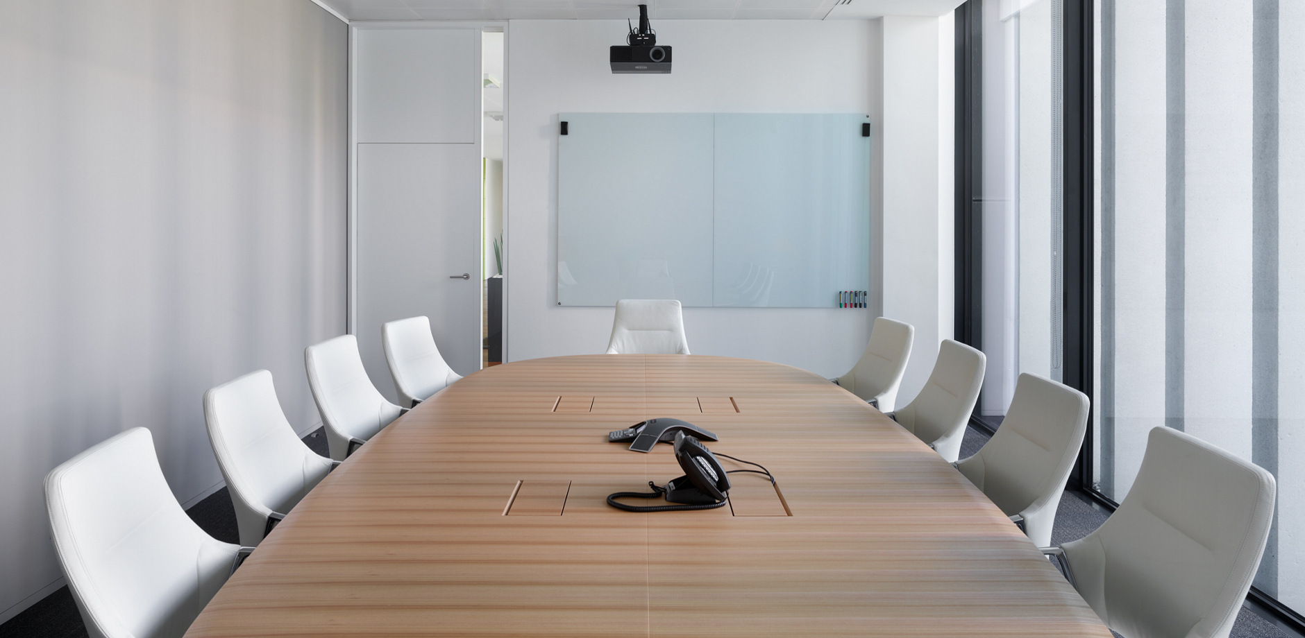 Conference Room And Meeting Point With Standup Reference OM Partners - Stand up conference table