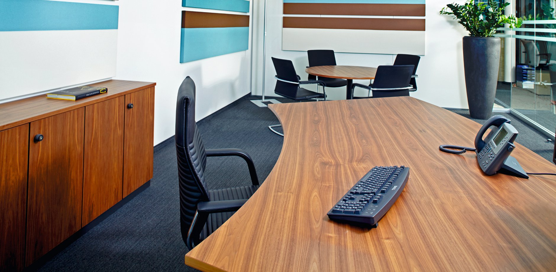 Ipsen Pharma, Germany, ON cantilever chair and FS management office chair by Wilkhahn