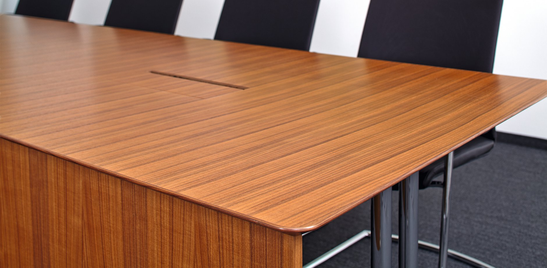 Ipsen Pharma, Germany, ON cantilever chair and Logon conference table by Wilkhahn