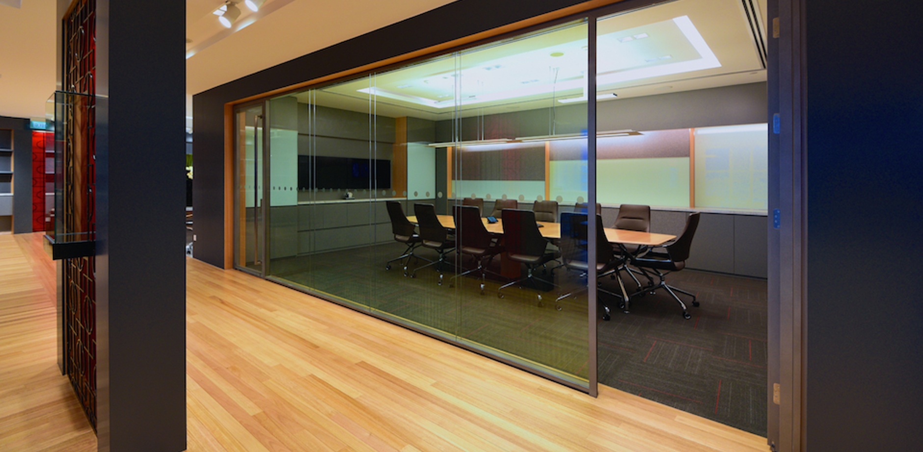 [Translate to Deutsch:] Conference room - office furniture