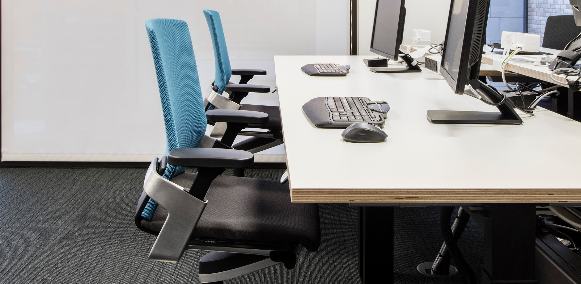 Office Space case study - Maersk Maidenhead - Wilkhahn ON task chair