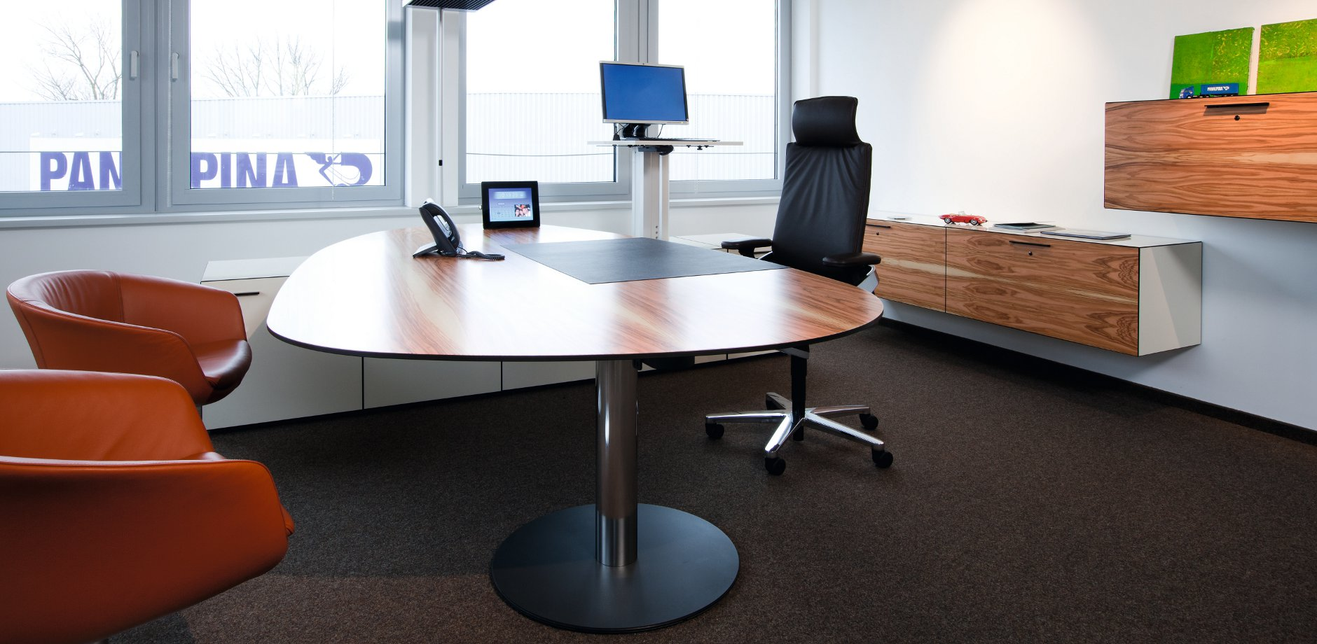 Panalpina Welttransport GmbH, ON office chair by Wilkhahn