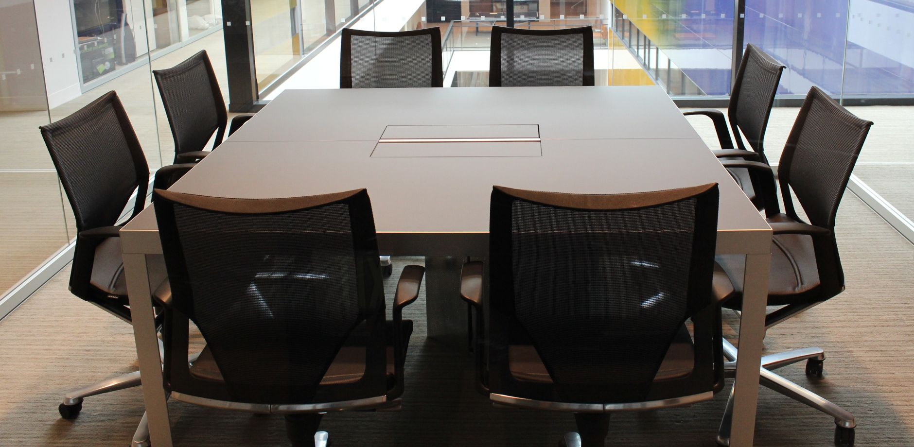 Yale University Reference project by Wilkhahn Modus Conference room