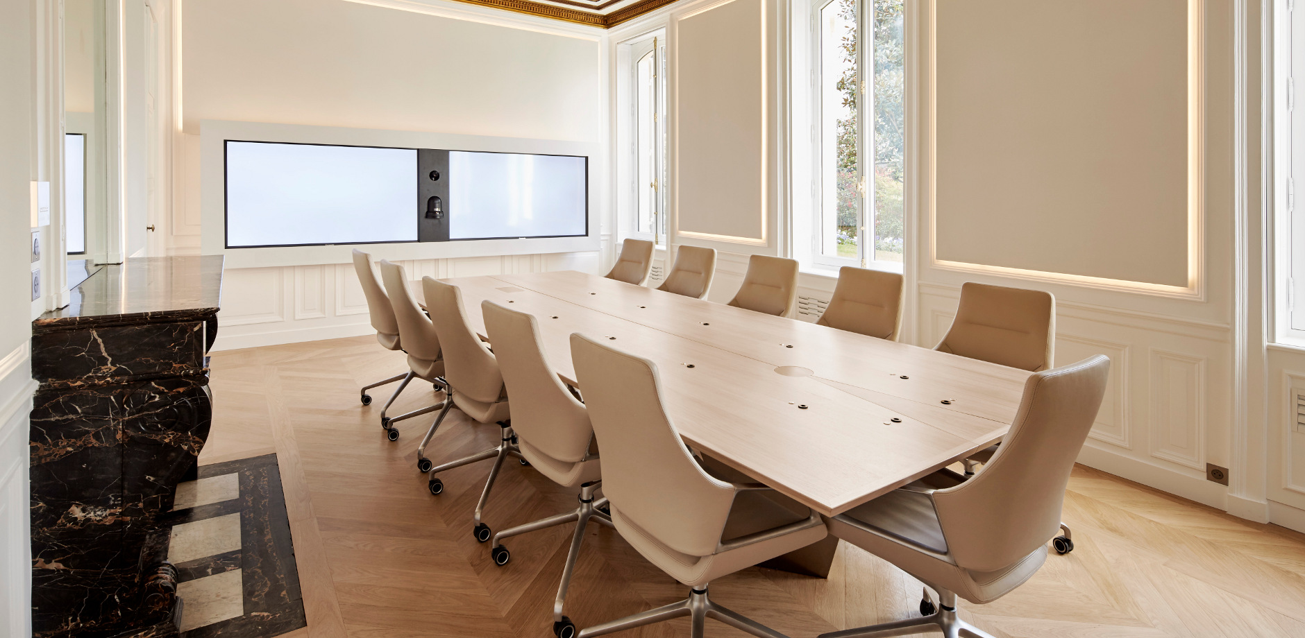 Conference room reference - Wendel Investissement - Graph Conference Chair