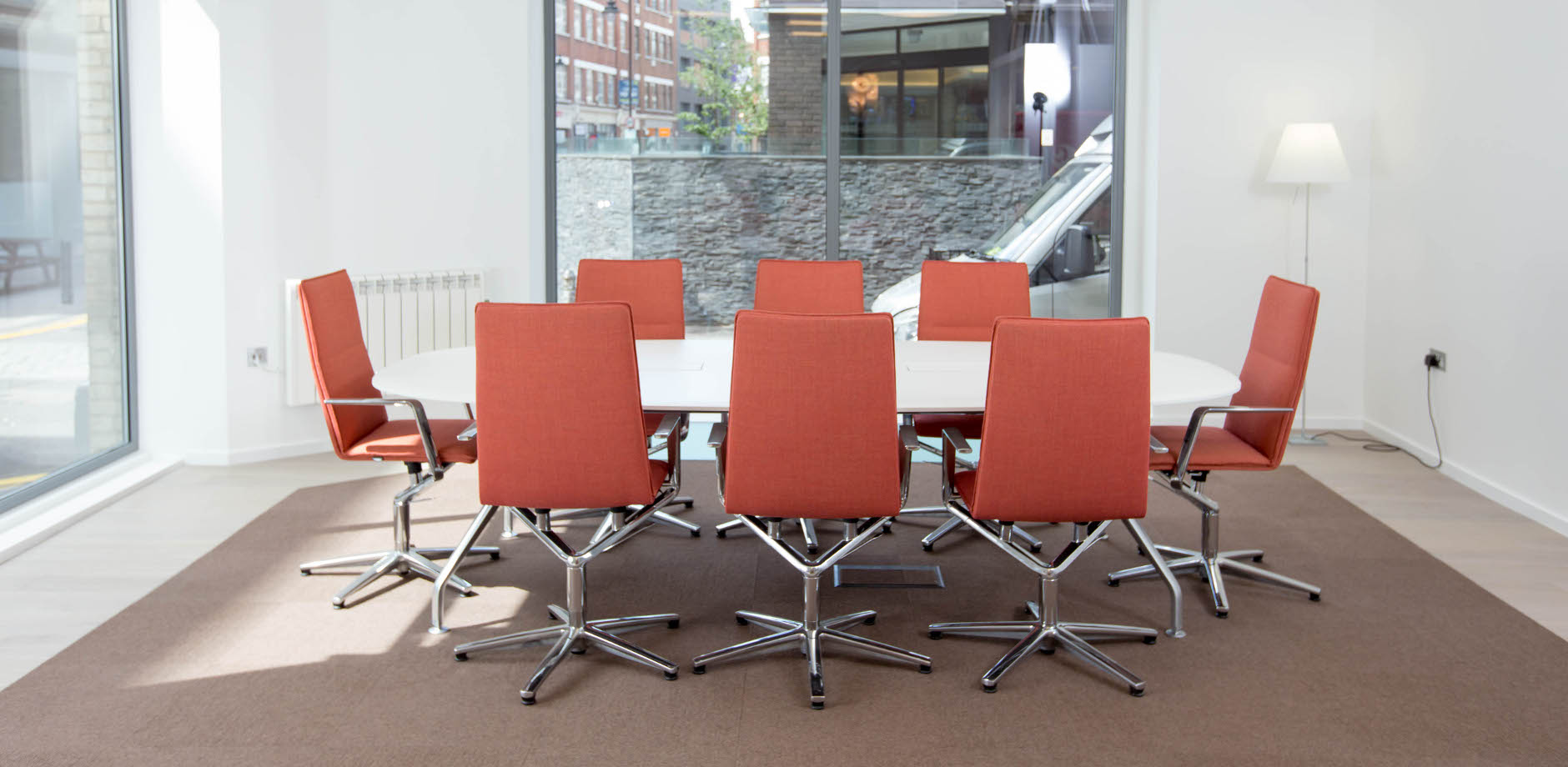 Sola conference chair in showroom London