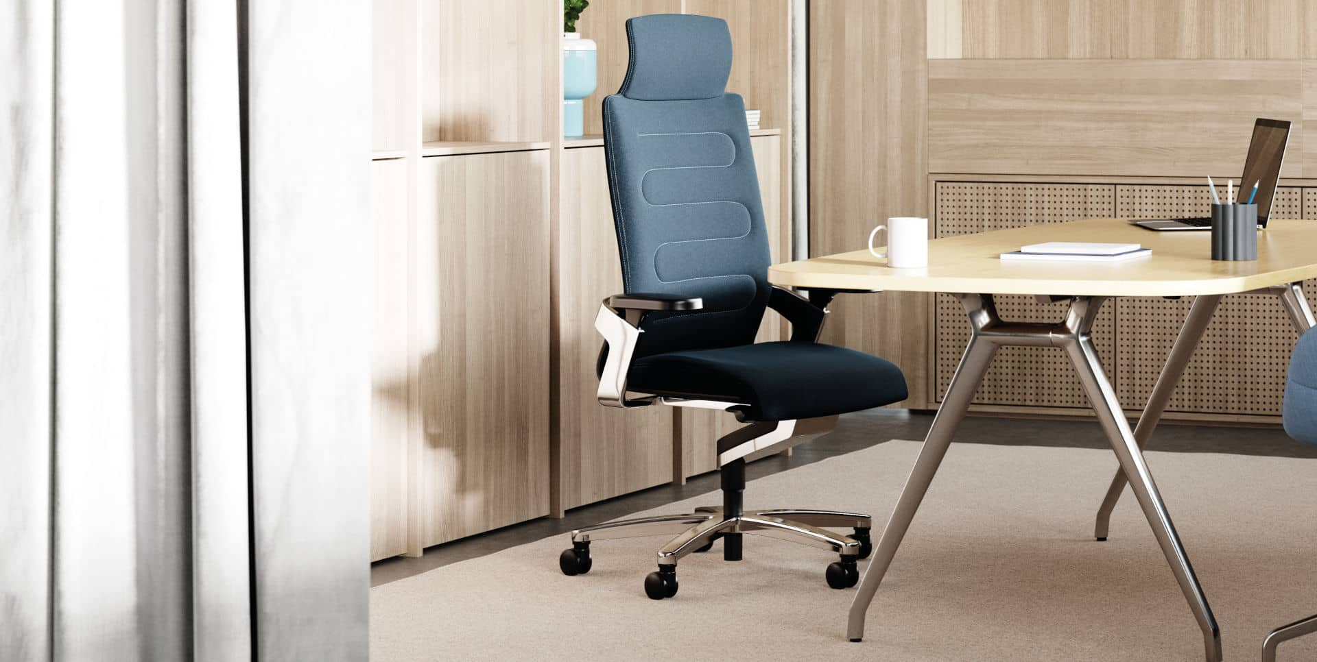 Ergonomic Office Chair On Task And Conference Chair