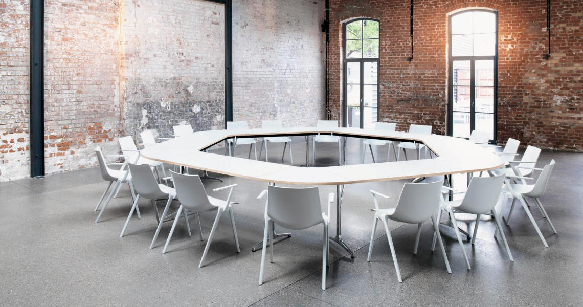 Ergonomic task chairs and dynamic conference tables - Wilkhahn AP